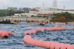 Okinawa Canoe Activists