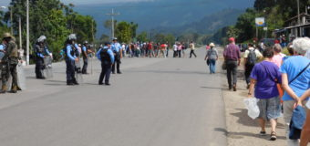 In Honduras, Police and Military Repression