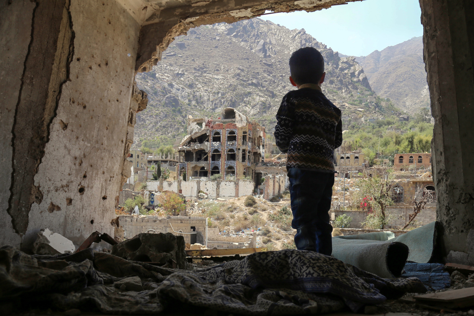 U.S. Is Complicit in Child Slaughter in Yemen
