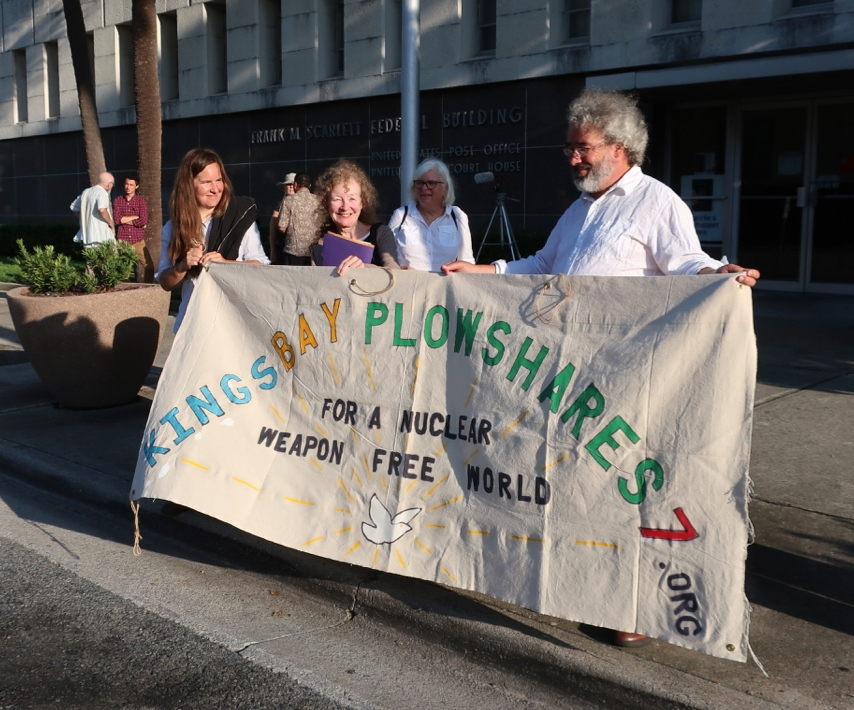 A Doubtful Proposition: A reflection on the trial of the Kings Bay Plowshares 7