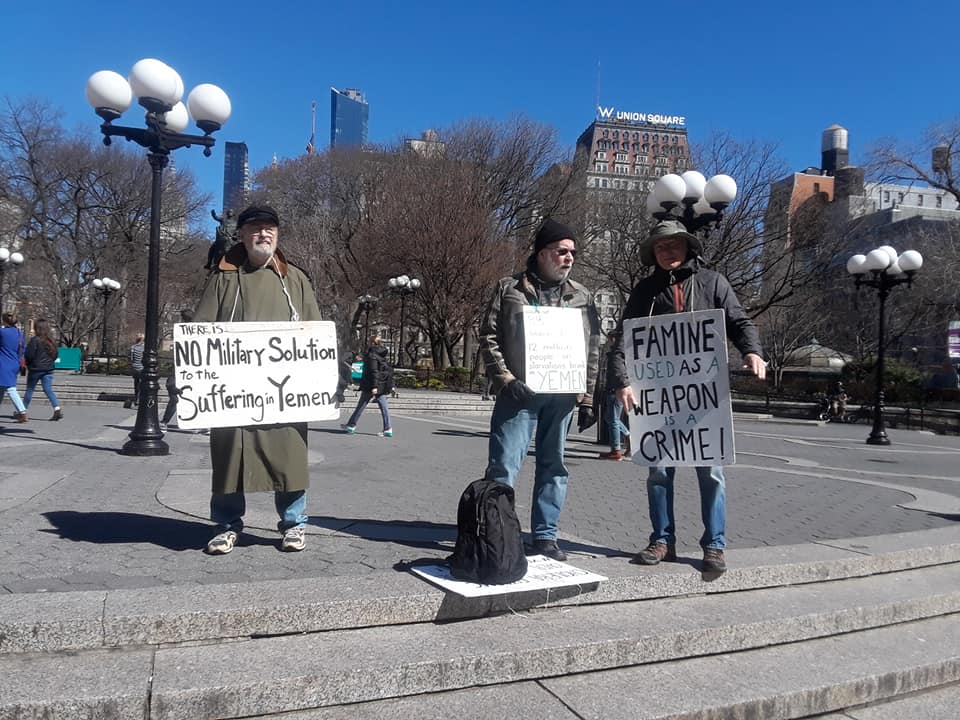 Vigil for Peace in Yemen, a New Norm
